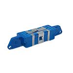 Mittelstück Duplex blau